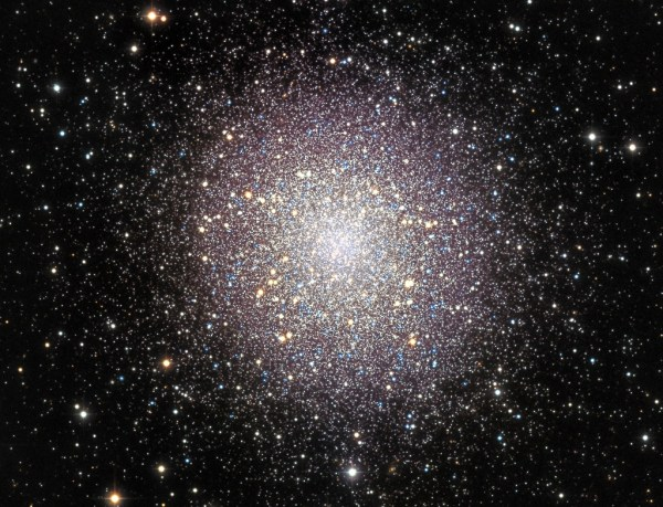 Messier 13, a globular cluster in Hercules | Anne's ...