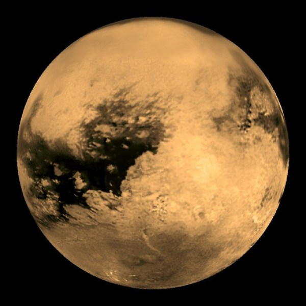 Titan, Saturn's largest moon | Anne's Astronomy News