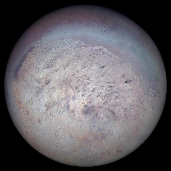 Triton, the largest moon of Neptune | Anne's Astronomy News