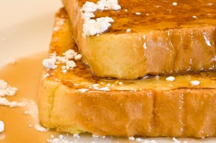 Vegan Orange French Toast