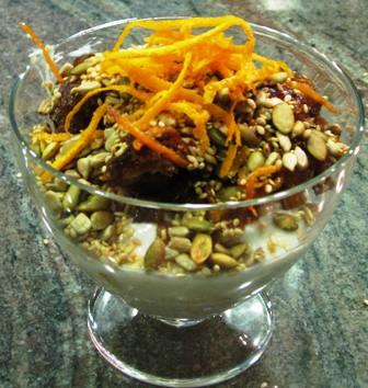 Easter Brunch Menu Item: Seedy Breakfast Crunch