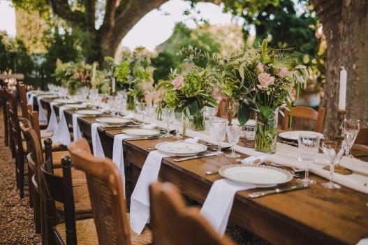 décoration de table mariage alpes maritimes