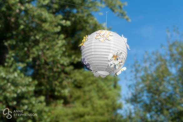 Paper Lanterns add a personal touch to events.