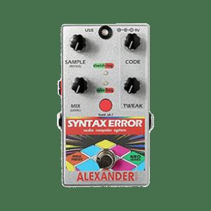 syntax error guitar pedal