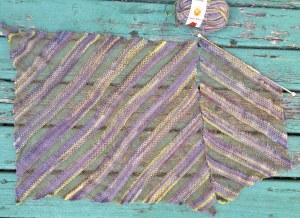 Diagonal Ribbons - Knitters 112