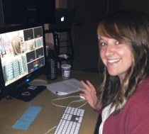Dana, the Craftsy editor.  She is magic with keeping track of everything.