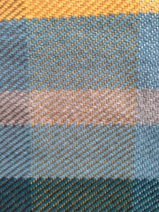 Close-up of the Twill pattern