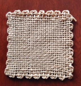 Here is a finished block of cotton!