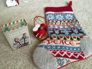 Santa filled my stocking with some fun knitting-related goodies this year.  I was a very good girl!