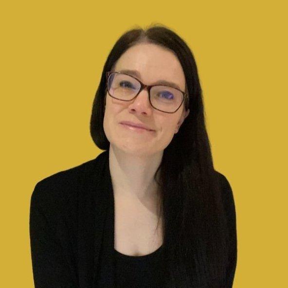Annette Ferguson gold background