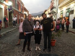With Tomagachi in Antigua