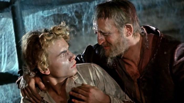 Still aus Das kalte Herz von 1950 mit Erwin Geschonneck als Holländermichel