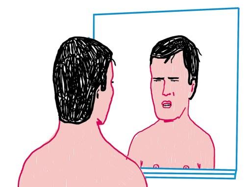 Tekening Spiegel Niet Normaal