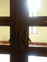 Door handles crafted by National Artist Napoleon Abueva