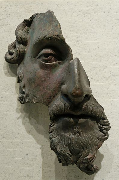 Marcus Aurelius in bronze: The Louvre, Paris