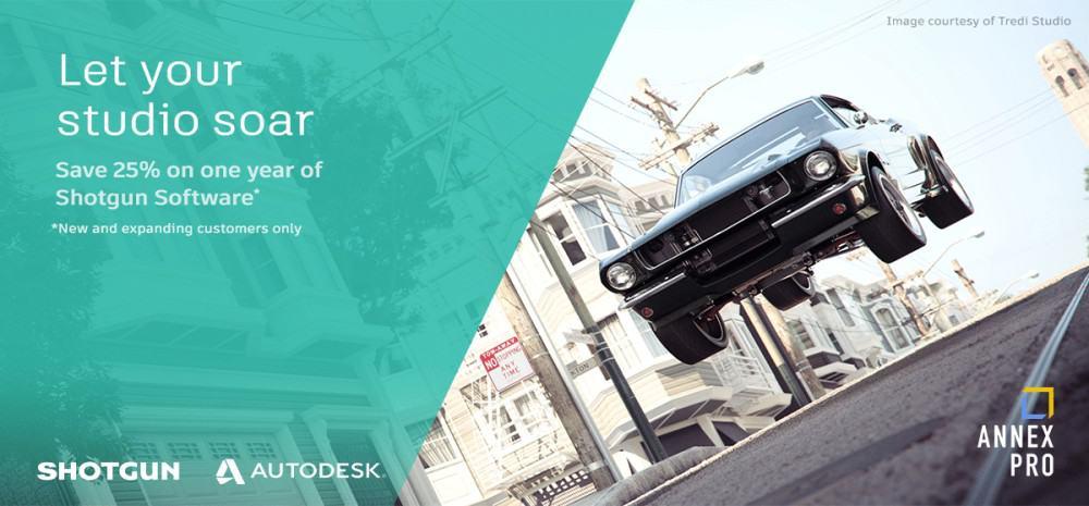 Autodesk Promotion Let your studio soar