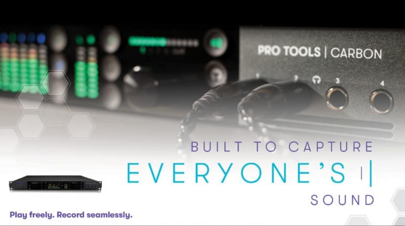 Avid Pro Tools Carbon Audio Recording Interface