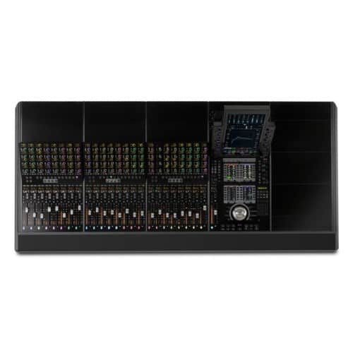 AVID S4 24-Fader with a 5-foot base system