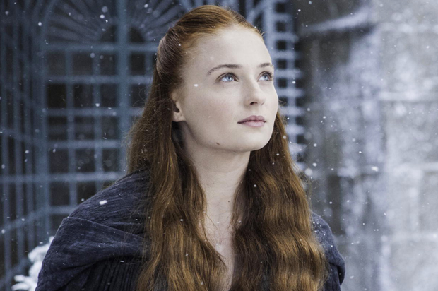 sansa game of thrones snow
