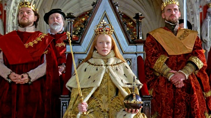 Cate Blanchett as Queen Elizabeth I in Elizabeth (1998)