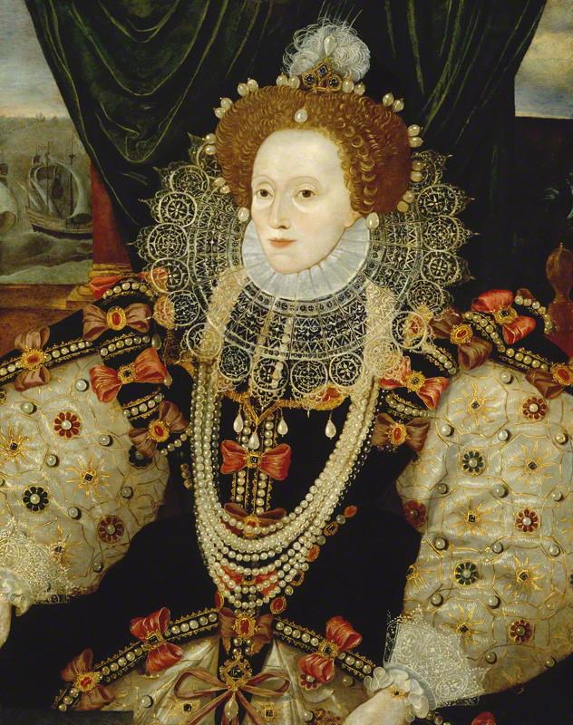 NPG 541; Queen Elizabeth I attributed to George Gower