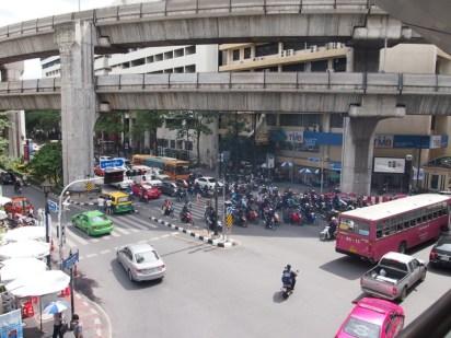 バンコクの中心街セントラル・ワールド