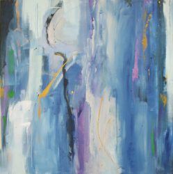 Résumé for abstract painting by Ann Hart Marquis