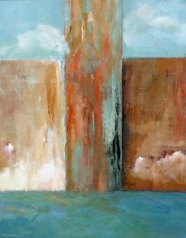 Passage, acrylic on canvas, 16x20. ©2012, Ann Hart Marquis