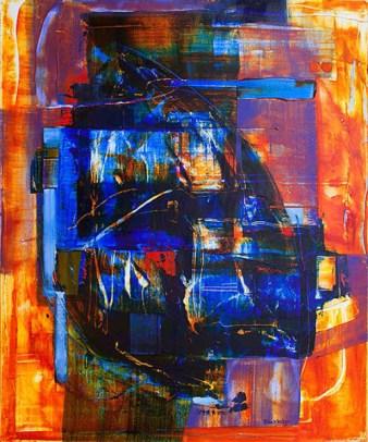 "The Improper Gentleman, Acrylic on canvas, 36"" x 30"""