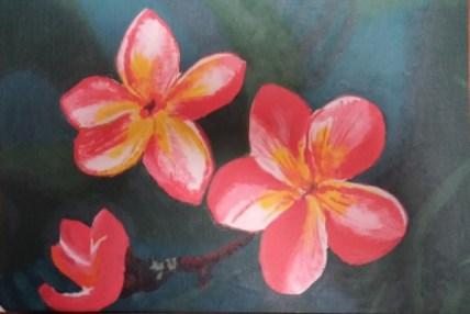 Hawaiian Flowers-Deborah Maestas