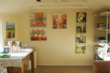Completed studio interior