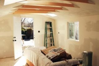 Ann Hart Marquis-Studio interior in process