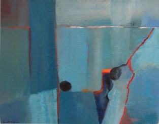 Ann Hart Marquis-Blues-painting style
