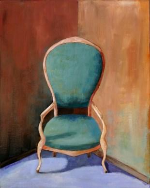 Ann Hart Marquis-Green Chair as commissions