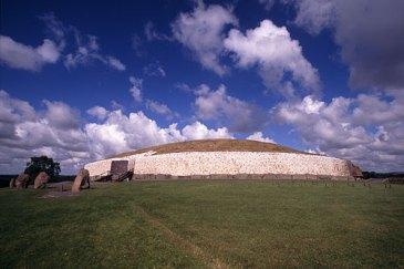Newgrange is part of Ireland