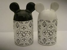 Mickey Mouse ceramic condiment set
