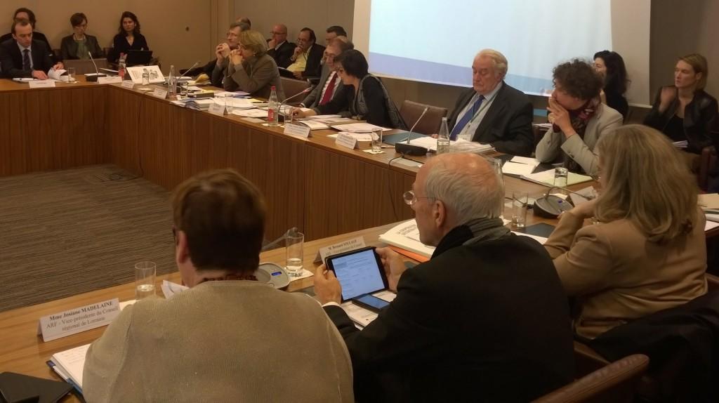 Annick Girardin préside la CNCD du 15 février 2015