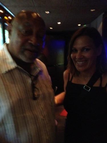 Avec Kenny Baron