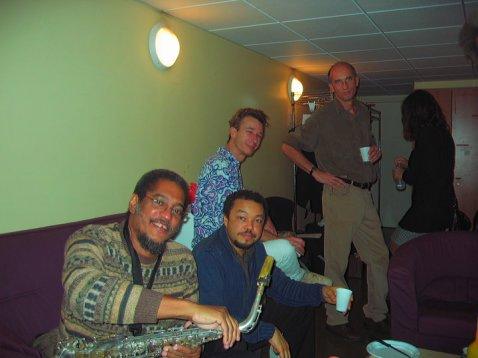 Avec Luther François-Mario Canonge - Xavier Desandre- Andy Narell