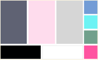 Choose a colour palette for your wardrobe
