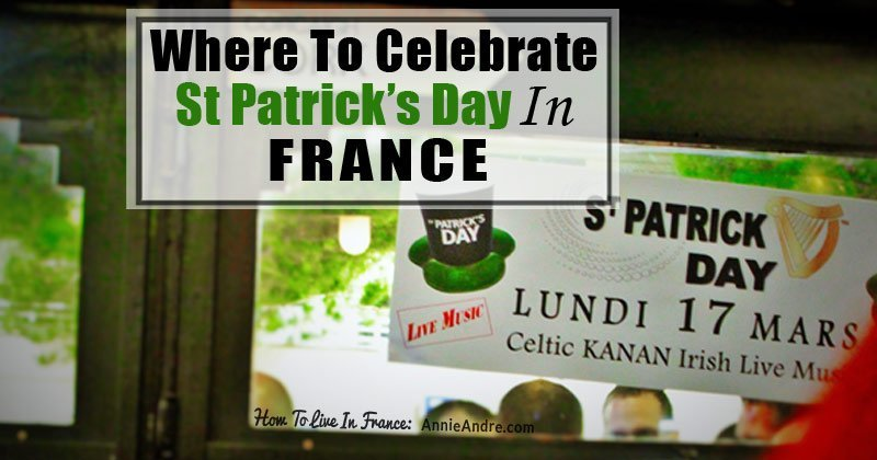 saint Patricks day in france