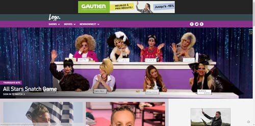 logoTV for gay and lesbian audience