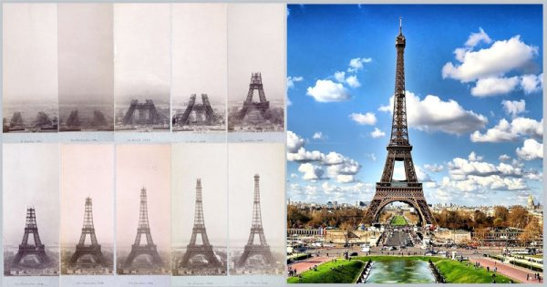 Eiffel tower was build in 1889to be the entrance to the worlds fair