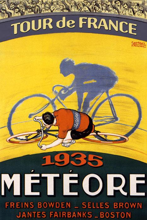 tour de France vintage poster