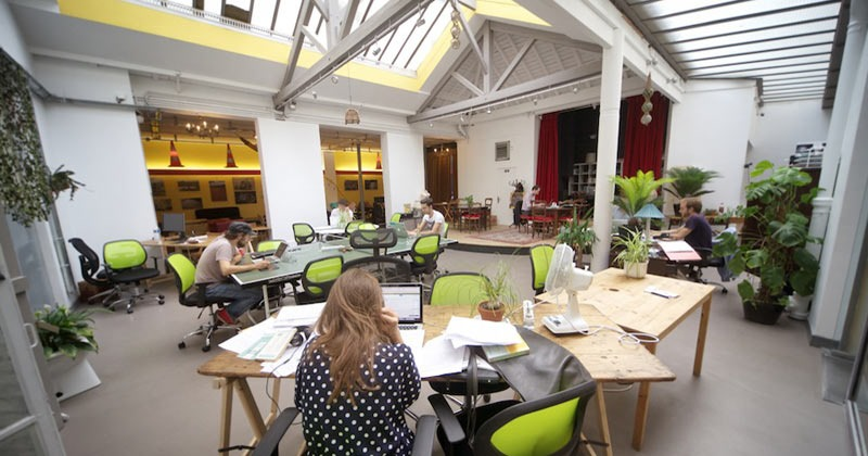 La Mutinerie: Is a dedicated co-working space in Paris where young freelancers can collaborate and be more productive and a place where you can host your next workshop