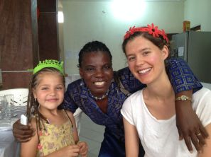 Together with the other birthday girl and Yvonne, KK Ivory Coast