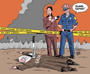 C'est la faute du Hamas