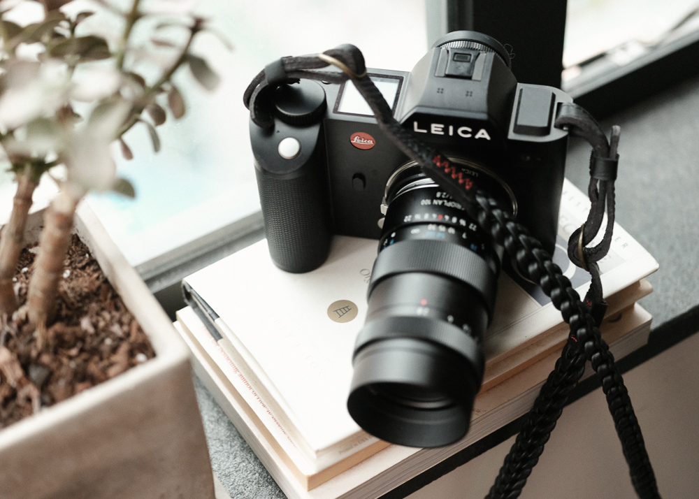 Leather Camera Straps Braided Style Orginal