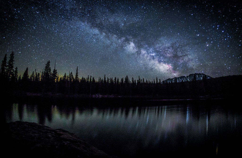 Website build. Eagle's Nest Wilderness Milky Way.