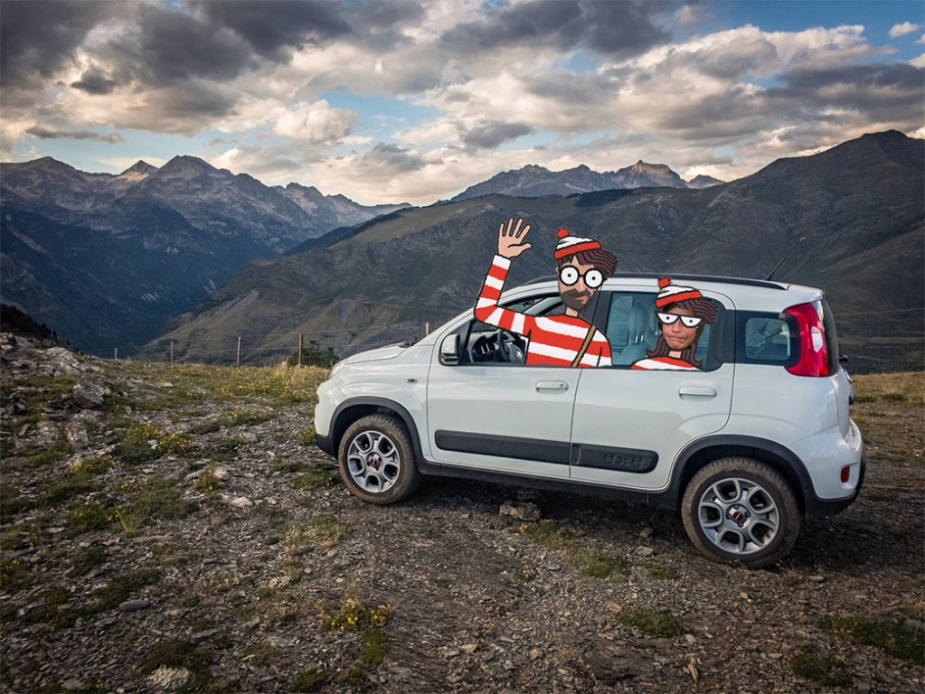 Photobombing – Where's Waldo? Photoshop Montage